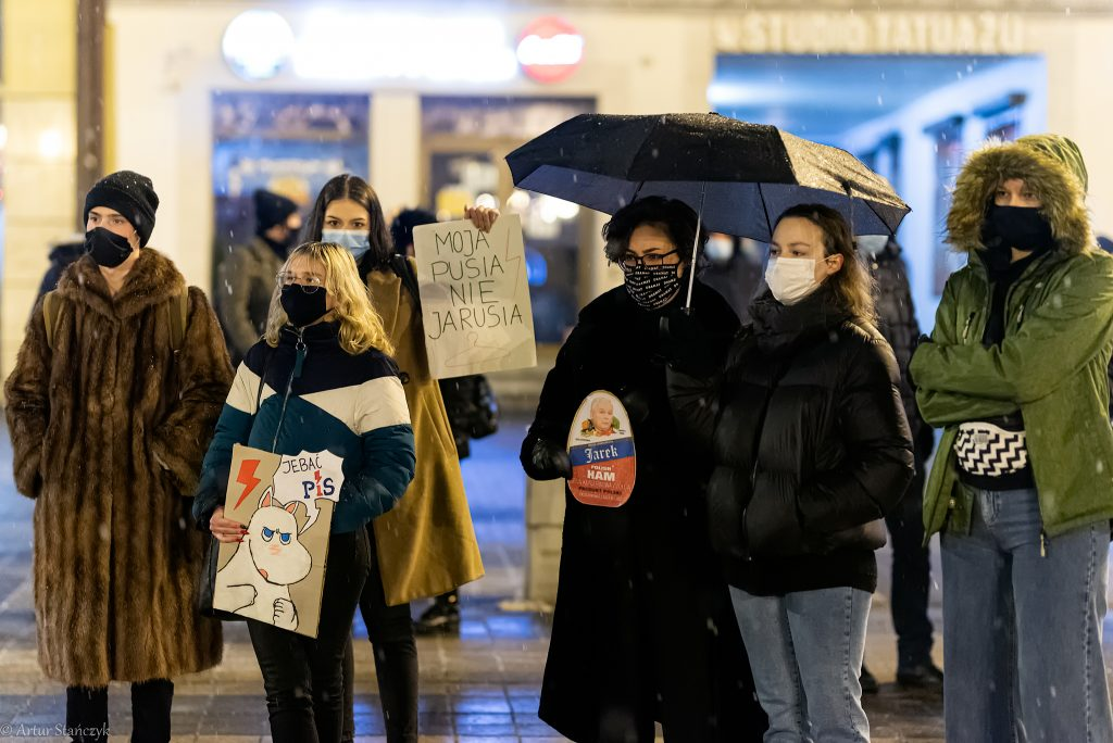 Strajk Kobiet w Rybniku
