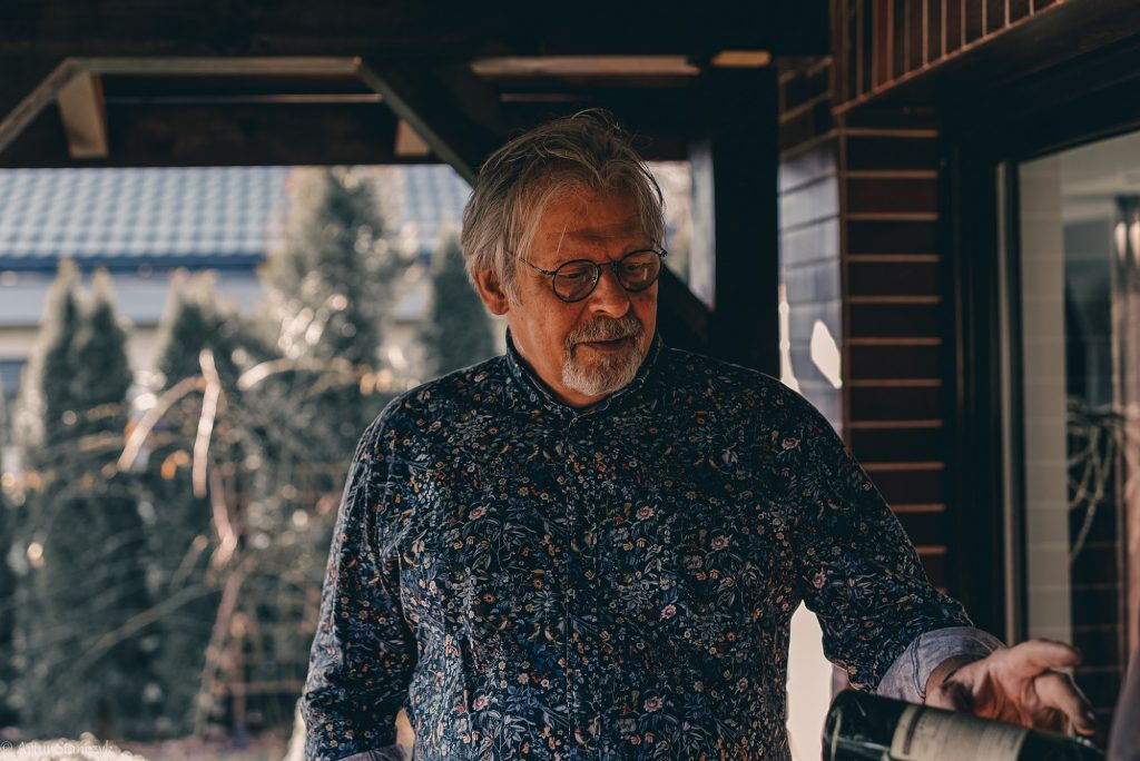 Jerzy Wilgus: wybrałem rzeźbienie, ale w ciele